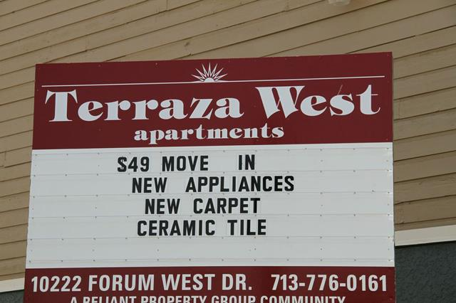 Live In A Positive Environment Terraza West Apartments